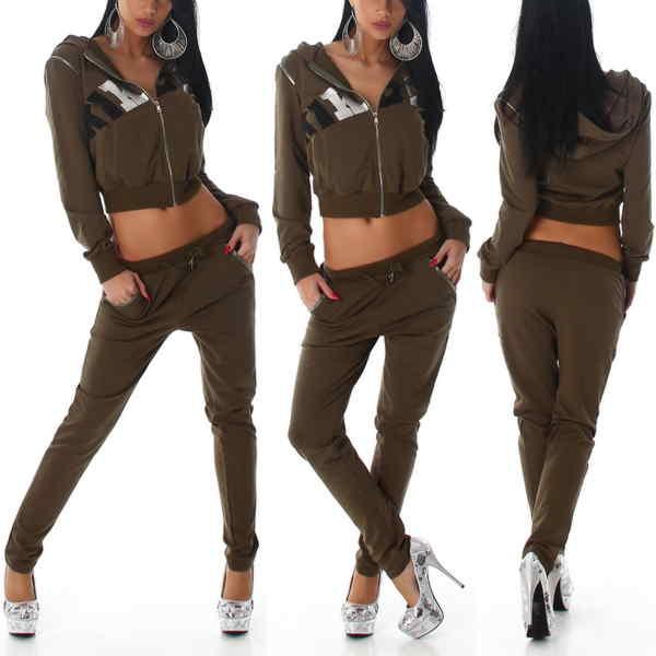 Eg /_ Damen Reflektierende Hosen Freizeit Joggen Hip Hop Gummibund Neunte HOSE