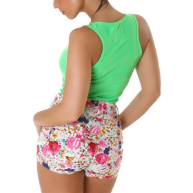 Shorts 4419, Creme, 2XS