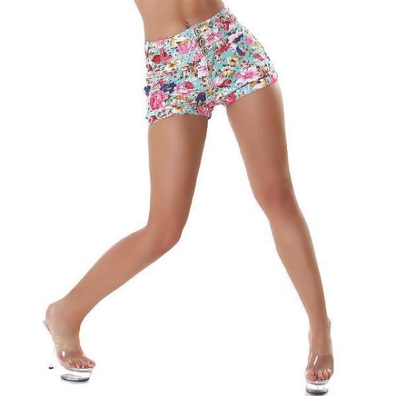 Shorts 4419, Turquoise, S
