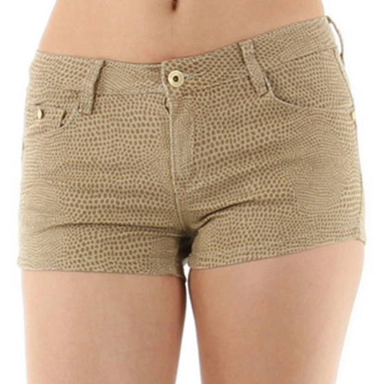 Blue Rags Damen Push-Up Reptilien Hotpants (32 - 42)