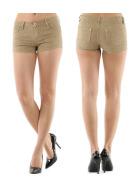 Blue Rags Damen Push-Up Reptilien Hotpants (32 - 42)