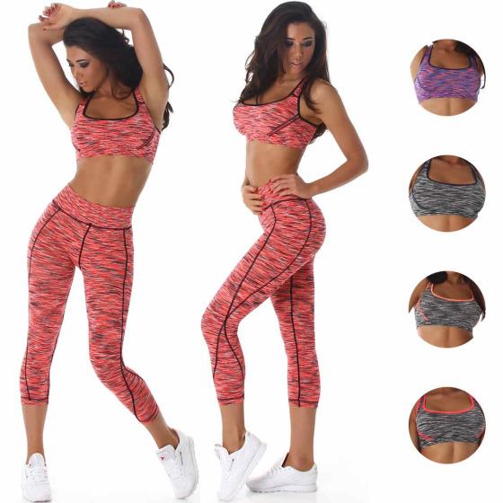 Jela London Jogging Sport-Set Trainingsanzug Top Leggings (32-34)