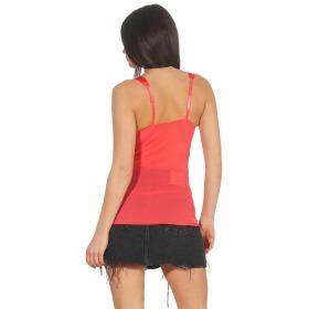 StyleLightOne Damen Negligé Nachthemd Stretch, Apricot 38 40 (L)