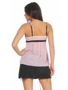 StyleLightOne Damen Negligé Nachthemd Stretch, Rosa 38 40 (L)