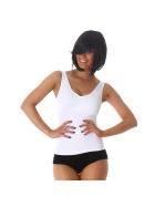 Power Flower Damen Sport-Top Fitness Freizeit Stretch Slimming (30-36)