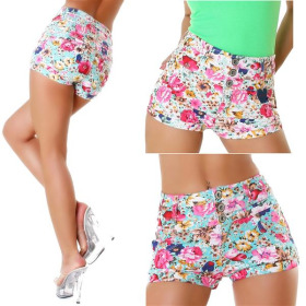Parisian Damen hippe Stretchy Sommer Shorts high-waist...